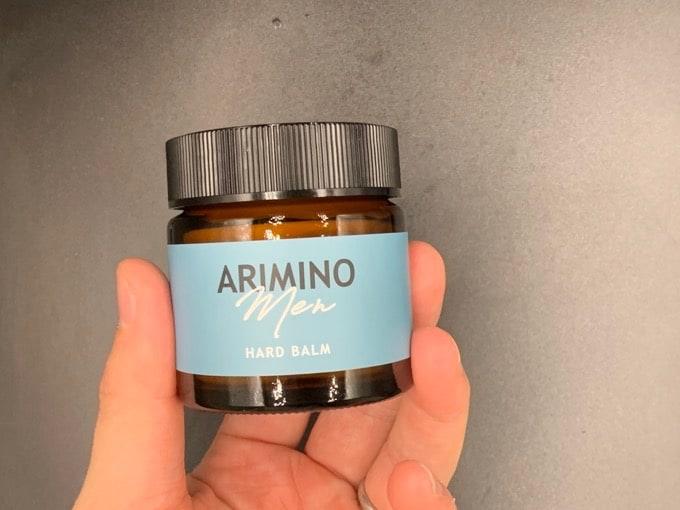 【アリミノ】「メン ハードバーム」のヘアワックスを美容師が実際に使ったレビュー記事