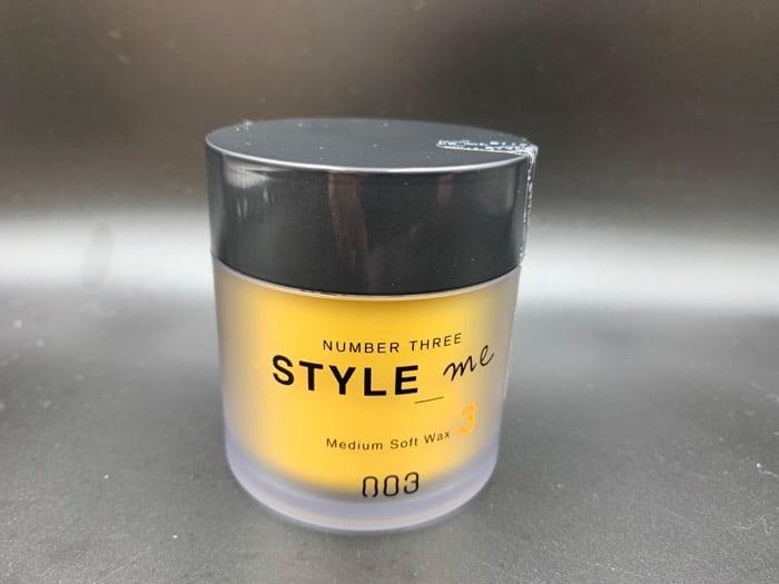 【ナンバースリー】「スタイルミー」のヘアワックスを美容師が実際に使ったレビュー記事