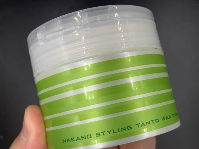 【ナカノ】「スタイリング タント」のヘアワックスを美容師が実際に使ったレビュー記事